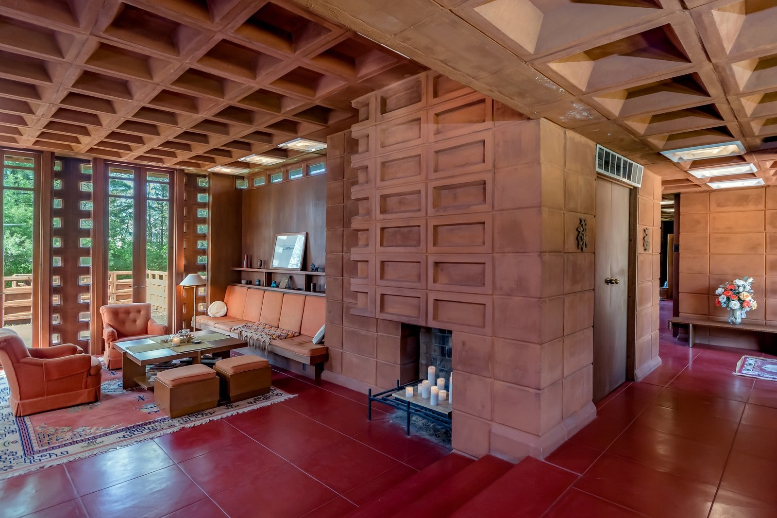 В Сент-Луисе продается дом по проекту Фрэнка Ллойда Райта (галерея 11, фото 5)