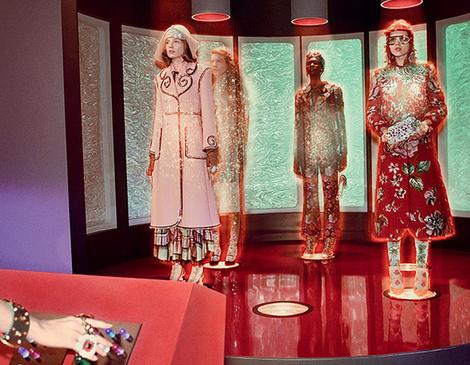 Звездный путь: новая космическая рекламная кампания Gucci | галерея [1] фото [2]