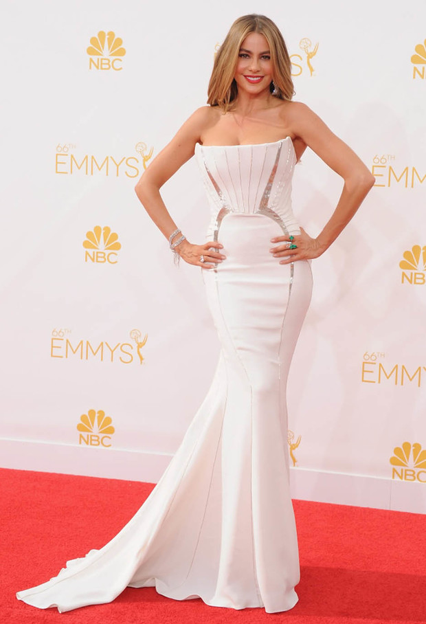 София Вергара на церемонии Emmy Awards 2014