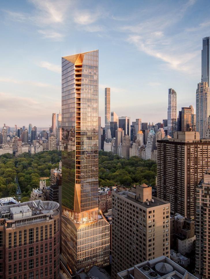 Скульптурный небоскреб от Snøhetta в Нью-Йорке [1]