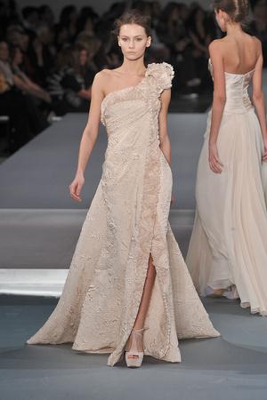 Показ Elie Saab коллекции сезона Весна-лето 2009 года Haute couture - www.elle.ru - Подиум - фото 86579