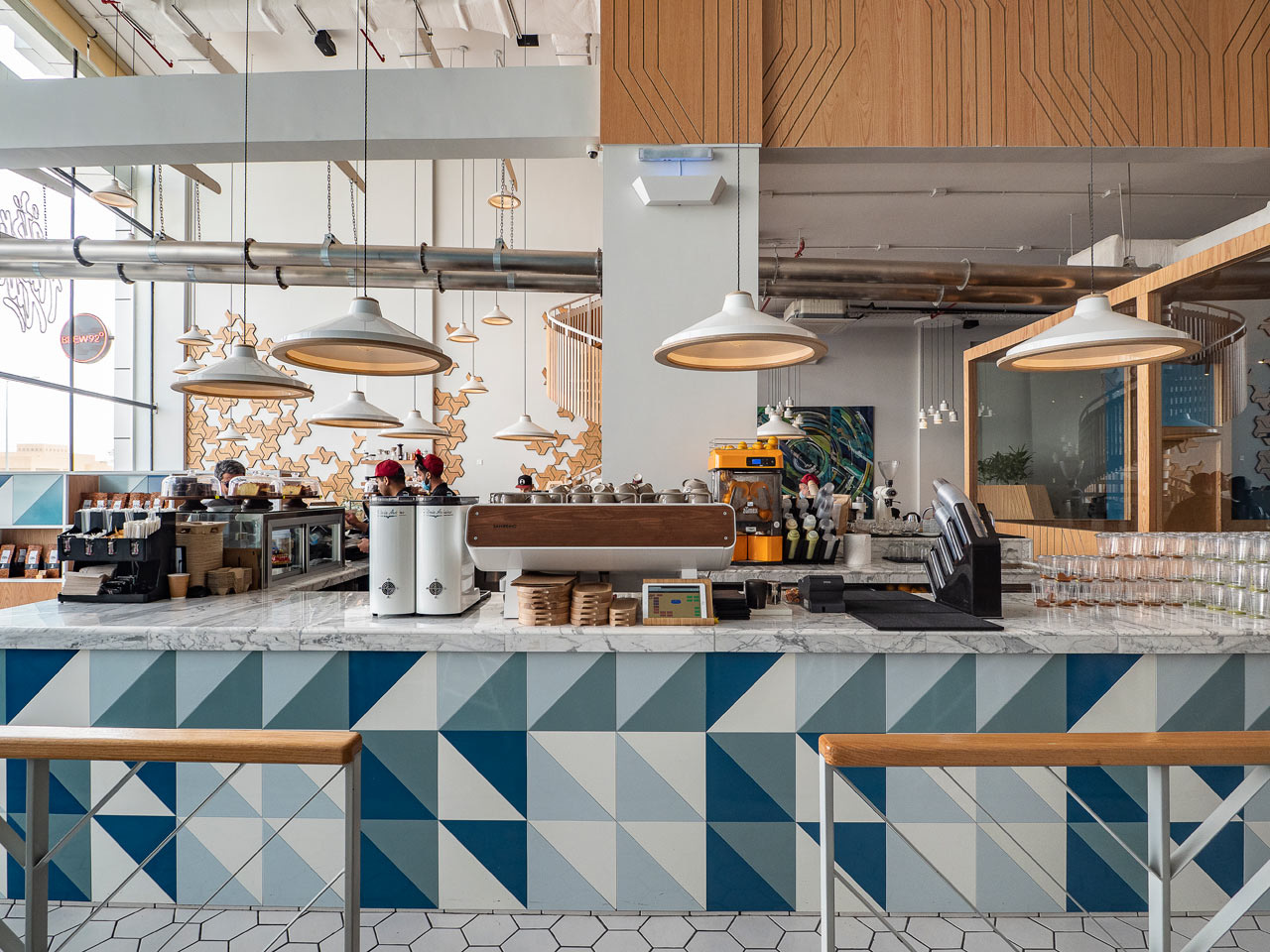 Кафе Liqui Design Completes its Third Brew92 Coffee Shop (галерея 5, фото 4)