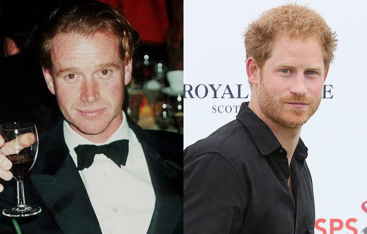 Принц Гарри — не сын Чарльза