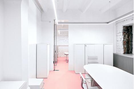 Жизнерадостный интерьер офиса: проект в деталях | галерея [1] фото [9]