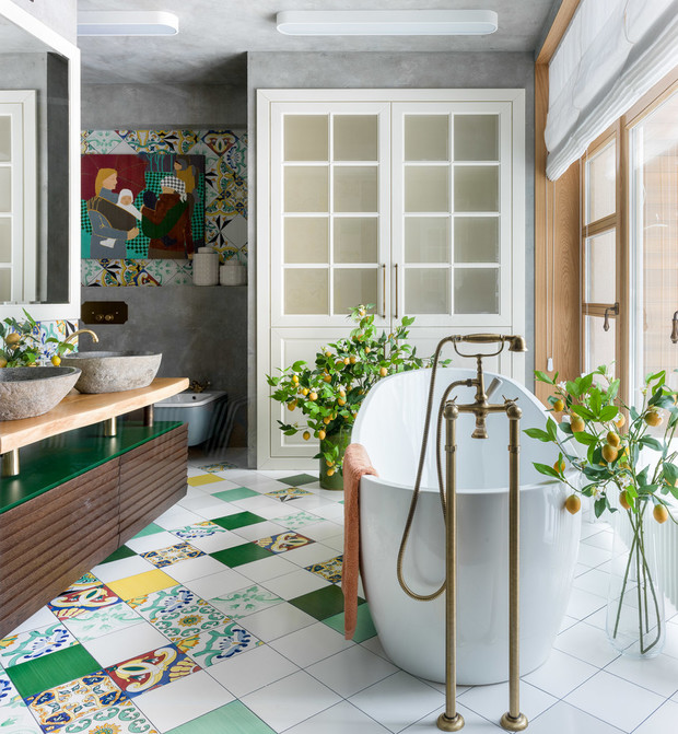 Стильная ванная комната: 5 простых советов (фото 21)