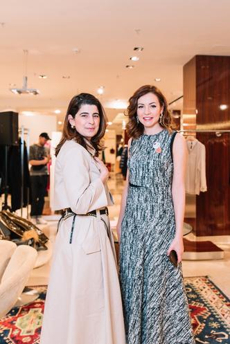 Дороти Шумахер и Татьяна Геворкян