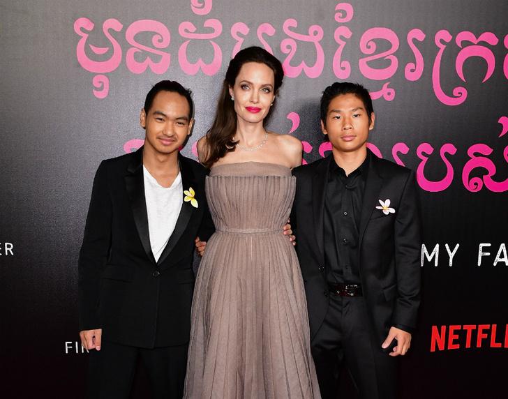 Между детьми Анджелины Джоли назревает конфликт фото [3]
