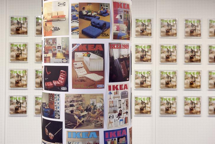 Обложки каталогов ИКЕА разных лет