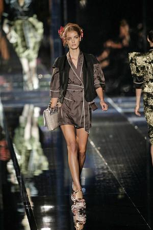 Показы мод Dolce & Gabbana Весна-лето 2009 | Подиум на ELLE - Подиум - фото 3363