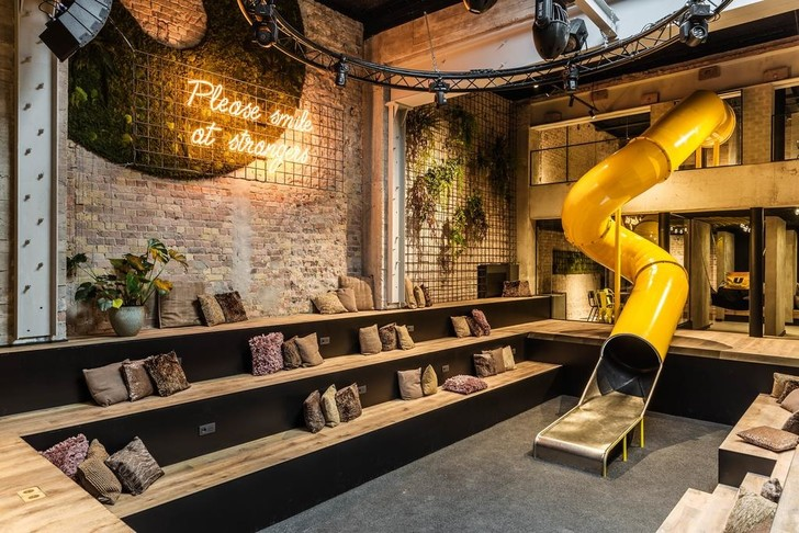 Брутальный отель в Брюгге, вдохновленный стилем Нью-Йорка (фото 6)