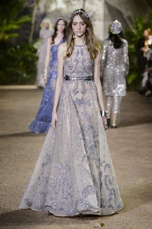 Показ Elie Saab коллекции сезона Весна-лето  2016 года Haute couture - www.elle.ru - Подиум - фото 602885