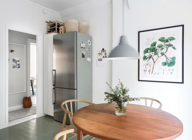 Маленькая кухня-столовая: 12 практичных советов (фото 25)