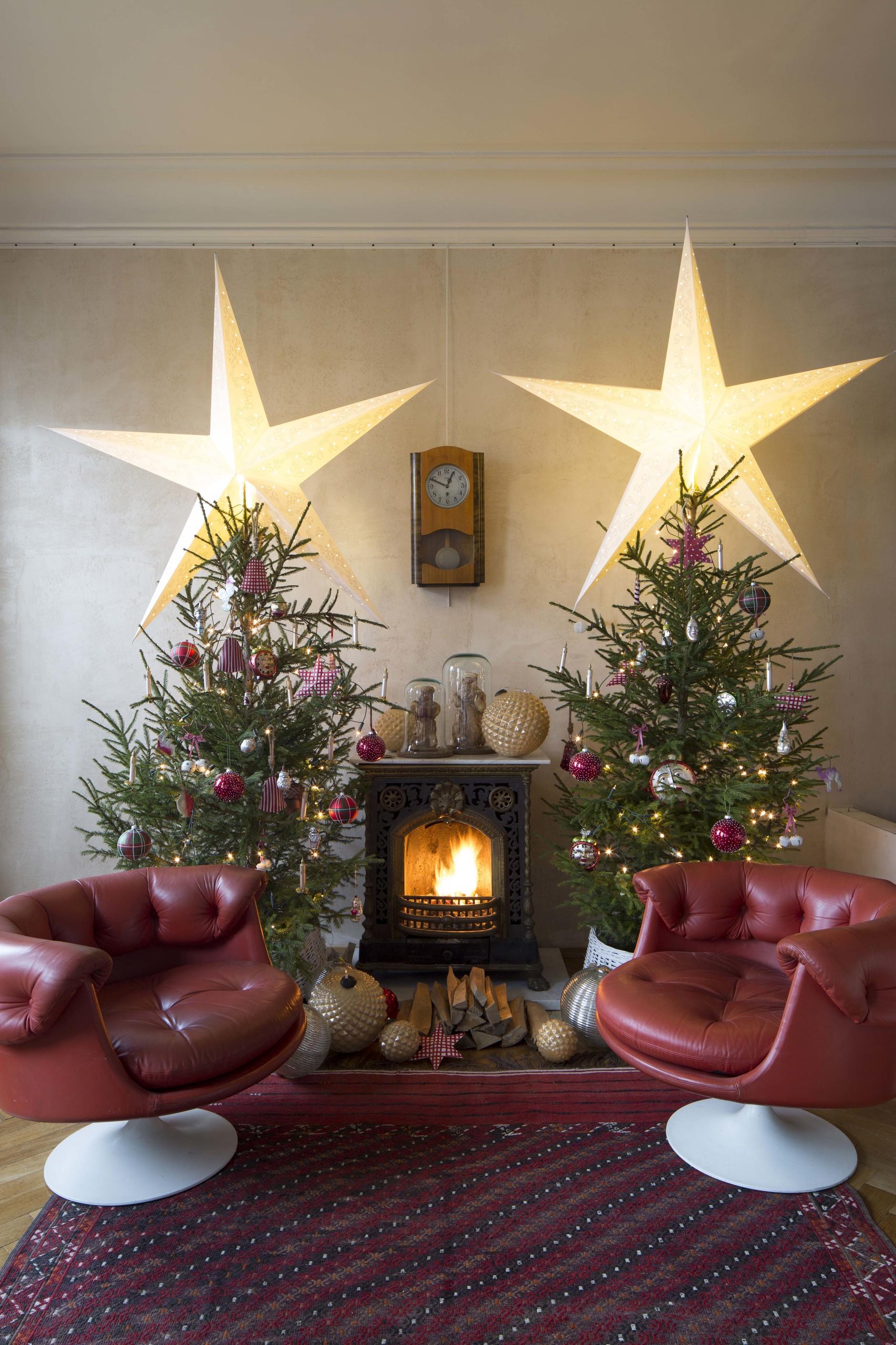 Рождество у камина: 10 идей праздничного декора (галерея 0, фото 8)