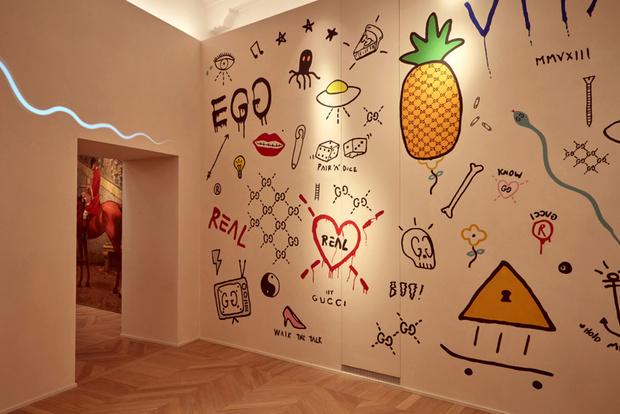 Модный дом GUCCI открыл ресторан во Флоренции (фото 8)