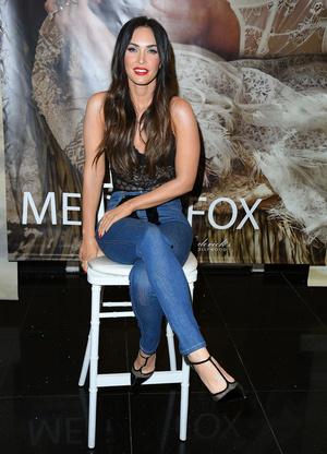 Триумфальное возвращение: Меган Фокс на презентации собственной коллекции белья (фото 2)