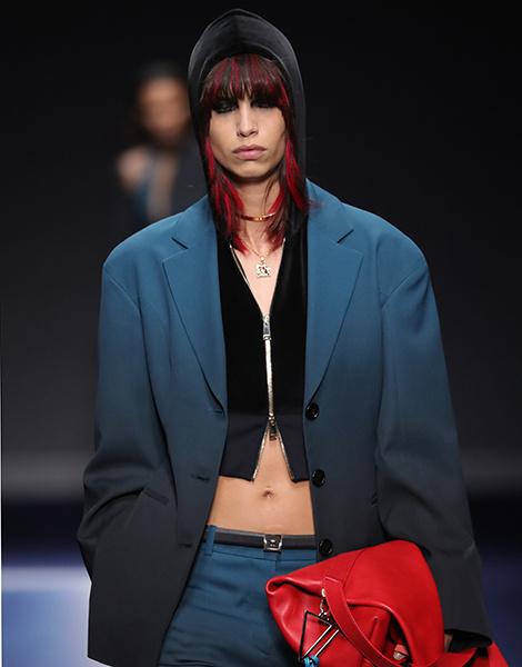 15 ключевых образов новой коллекции Versace | галерея [1] фото [1]