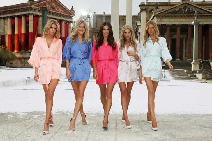 «Ангелы» Victoria's Secret: фото 2015