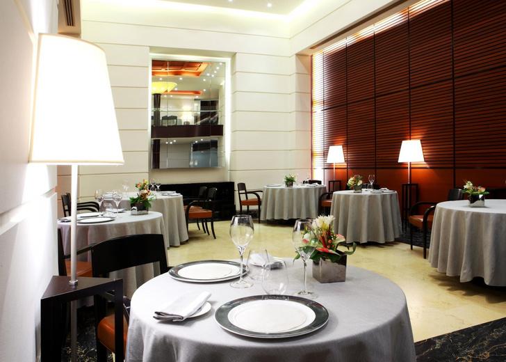 Ресторан Ristorante Cracco Michelin интерьер
