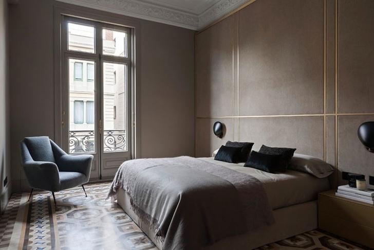 Современная квартира в доме Гауди в Барселоне (фото 8)