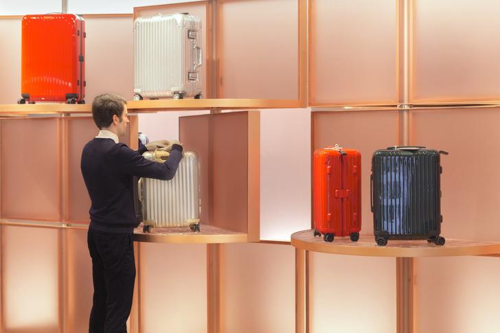 Розовый бутик Rimowa в Bon Marché по дизайну Snøhetta (фото 2)