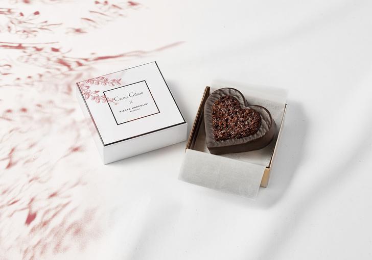Просто вместе: шоколатье Пьер Марколини и дизайнер Карин Жильсон о своей коллаборации ко Дню Святого Валентина (фото 13)