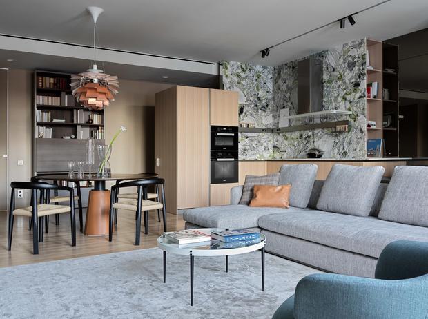 Квартира 160 м² в центре Екатеринбурга (фото 3)