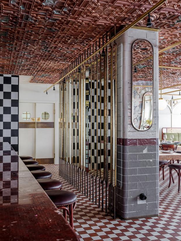 Ресторан Buro в ЦУМе: проект NB Studio (фото 2)