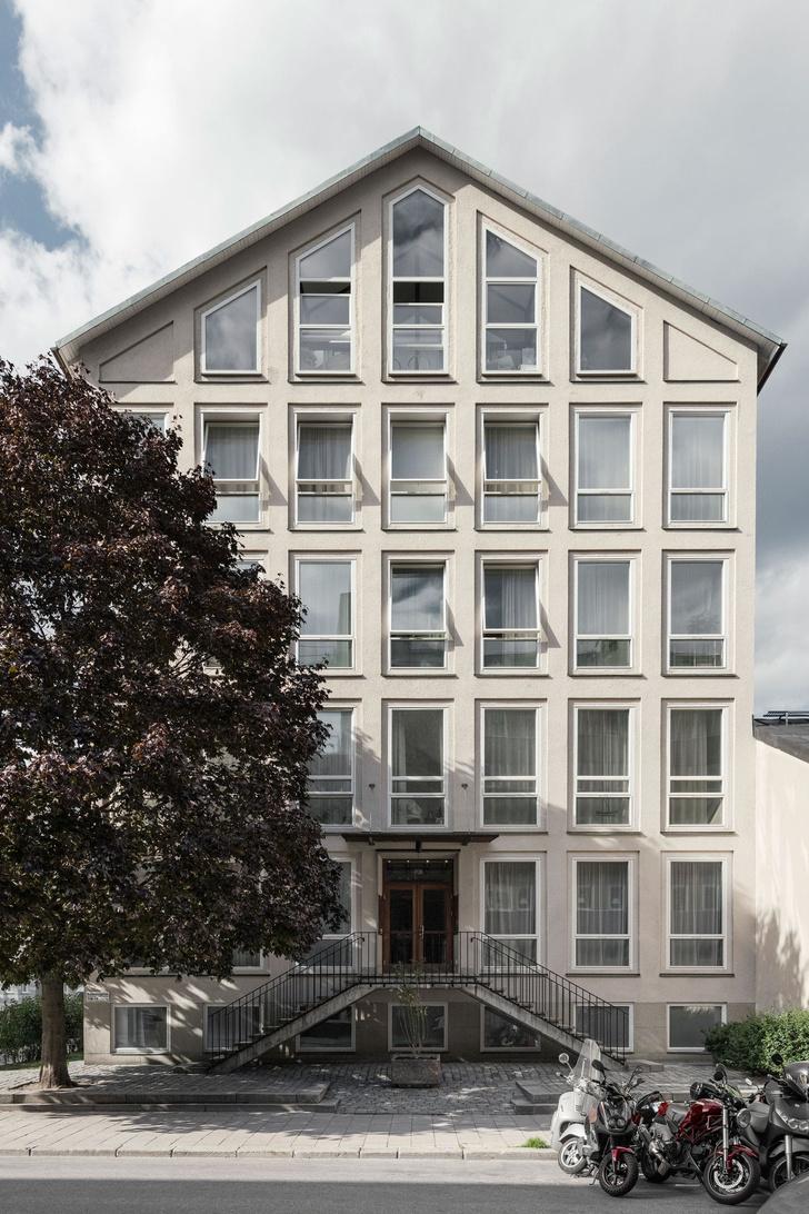 Апартаменты в здании бывшего института в Стокгольме (фото 14)
