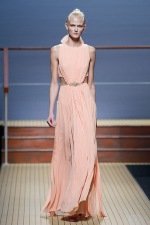 Показы мод Ermanno Scervino Весна-лето 2014 | Подиум на ELLE - Подиум - фото 3622