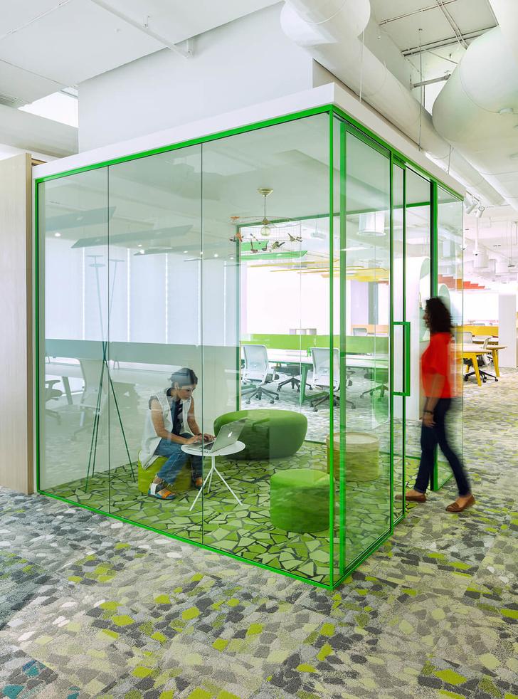 Эклектичный офис в Дубае (фото 10)