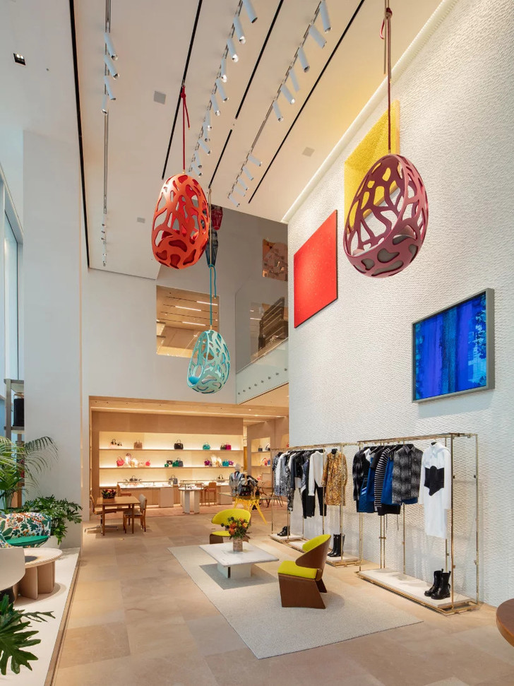 Открылся флагманский магазин Louis Vuitton в Сеуле (фото 5)