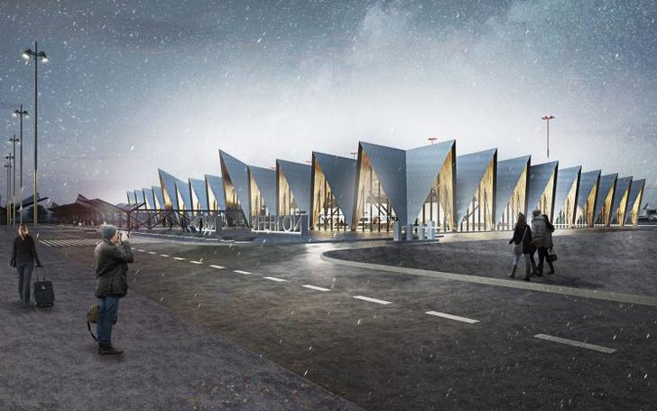 Проект реконструкции аэропорта Нового Уренгоя (фото 6)