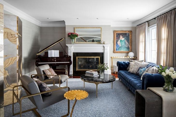 Французский шик и ар-деко: дом в пригороде Нью-Йорка (фото 2)