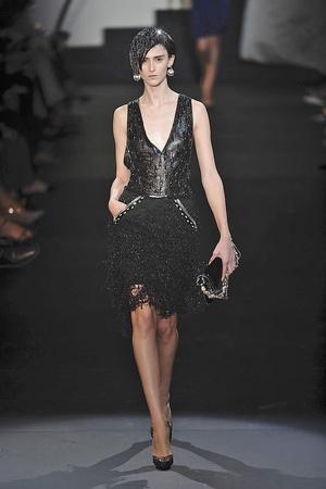 Показ Giorgio Armani Privé коллекции сезона Осень-зима 2009-2010 года haute couture - www.elle.ru - Подиум - фото 87694