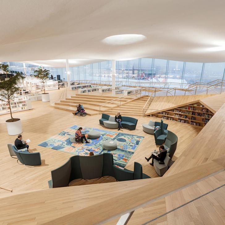 Книжный рай: библиотека в Хельсинки (фото 3)