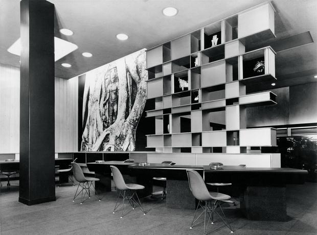 Лондонский офис Air France, 1957 год.