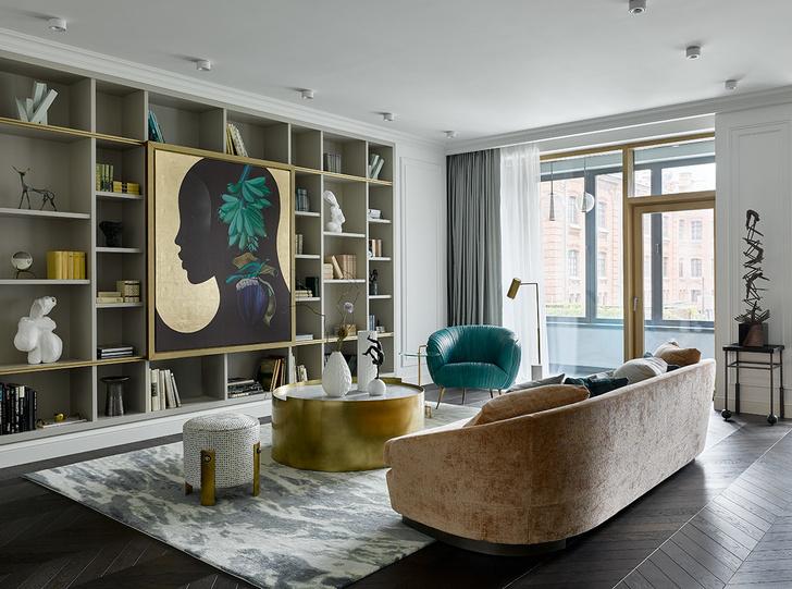 Квартира 130 м²: проект Юлии Кузнецовой (фото 3)