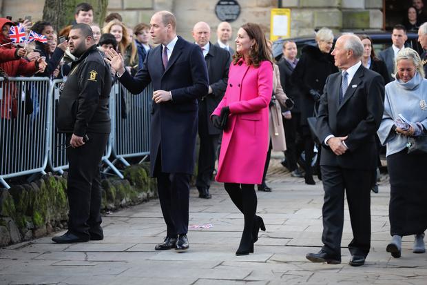 Принц Уильям и Кейт Миддлтон в Ковентри (фото 4)
