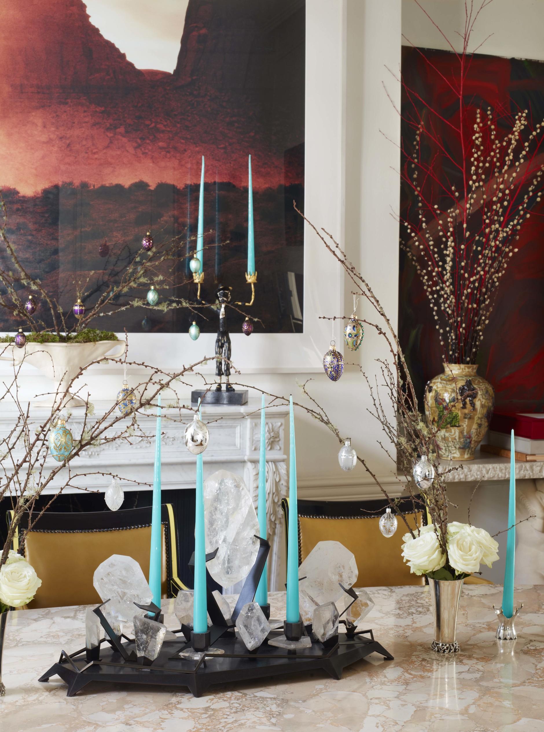 Рождество у камина: 10 идей праздничного декора (галерея 0, фото 7)