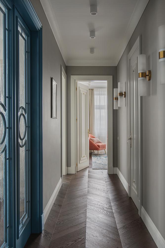 Московская квартира 96 м² в классическом стиле (фото 9)