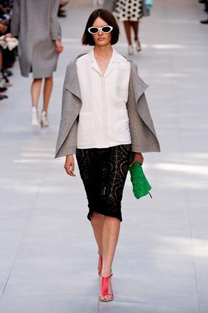 Показы мод Burberry Весна-лето 2014 | Подиум на ELLE - Подиум - фото 3567