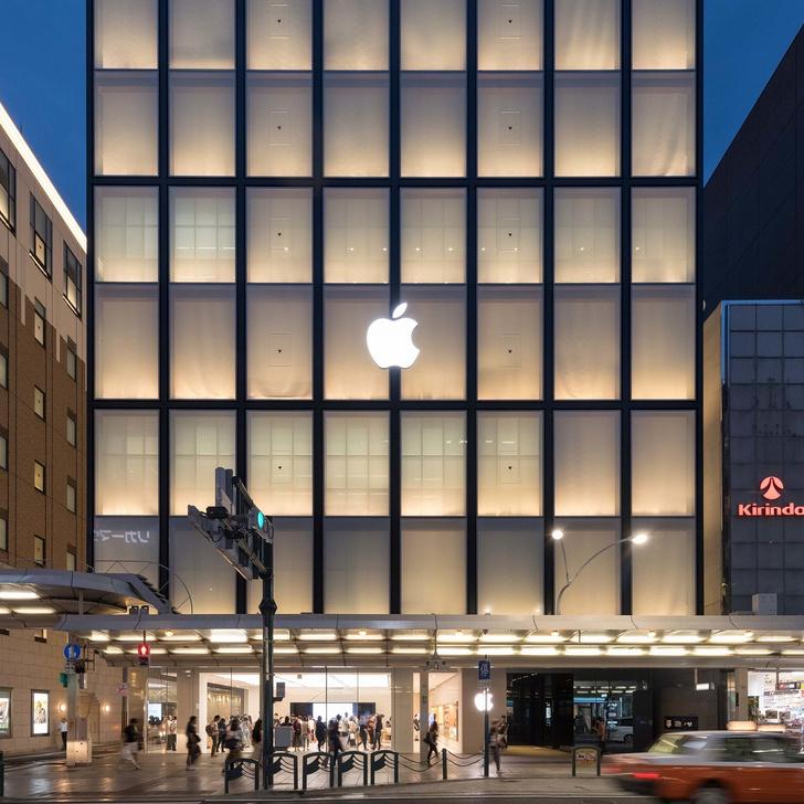 10 самых эффектных бутиков Apple (фото 30)