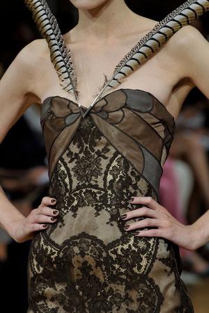 Показ Alexis Mabille коллекции сезона Осень-зима 2011-2012 года Haute couture - www.elle.ru - Подиум - фото 277437