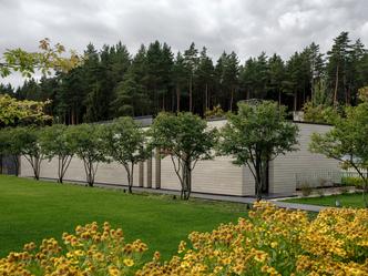 Современный дом  4500 м² с красивым садом на Новой Риге: проект бюро Woodstone (фото 5.1)