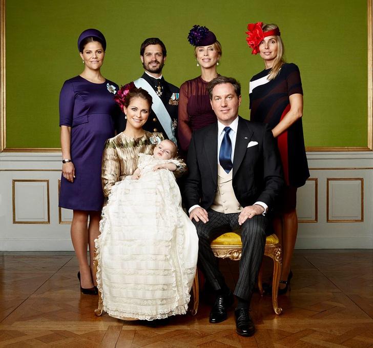 Портрет шведской королевской семьи 2