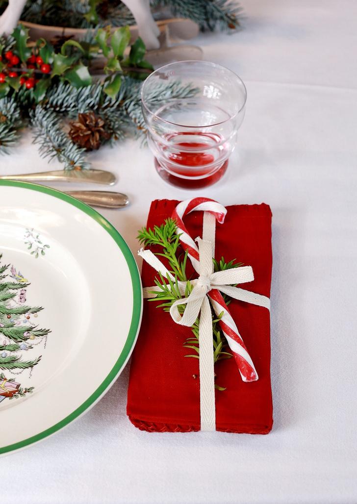 4 варианта новогодней сервировки фото [9]
