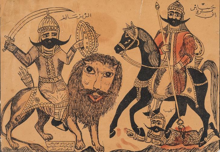 Выставка арабской народной картины в Музее Востока (фото 2)