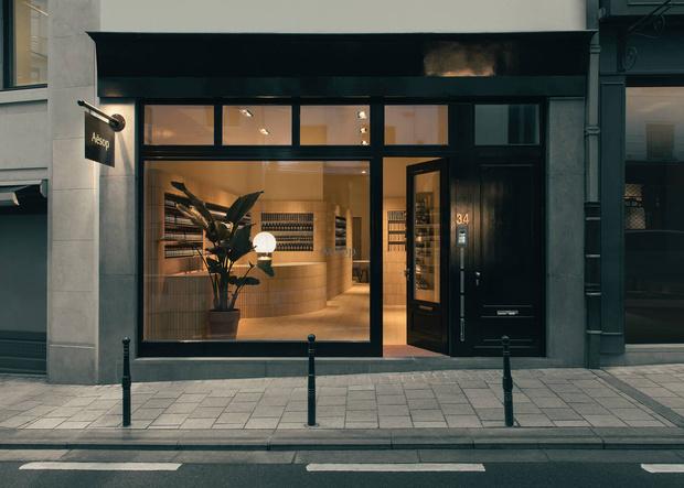 Новый бутик Aesop в Брюсселе (фото 8)