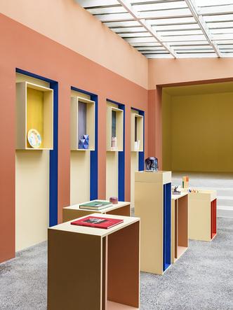 Сувенирный магазин по дизайну Пьера Йовановича в арт-центре Villa Noailles (фото 8.1)