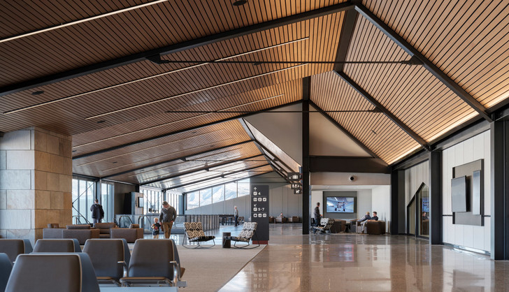 Новый дизайн аэропорта в Колорадо (фото 10)